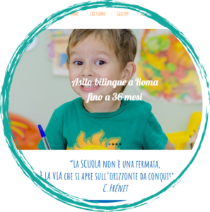 Asilo bilingue a Roma